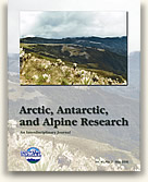 Arctic, Antarctic, and Alpine Research.